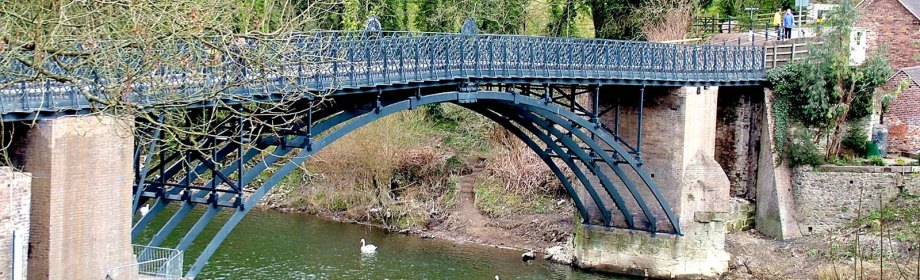coalport bridge near broseley