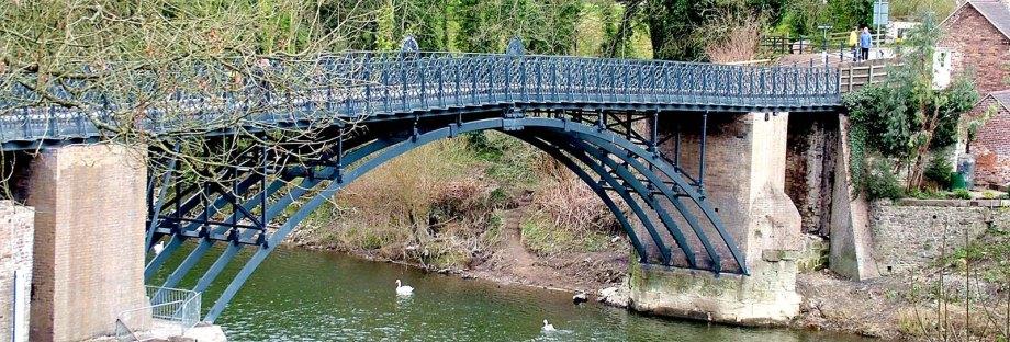 coalport bridge near broseley